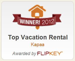 2012 flipkey top vacation rental kapaa